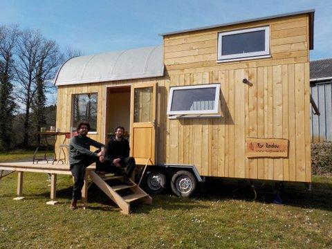 tiny house, batik charpente, habitat alternatif