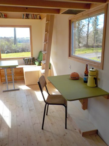 habitat alternatif, logement, bois, charpente