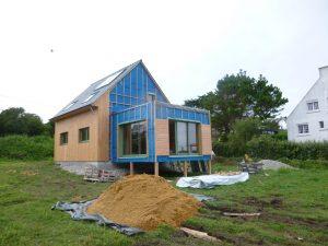maison, ossature bois, finistère